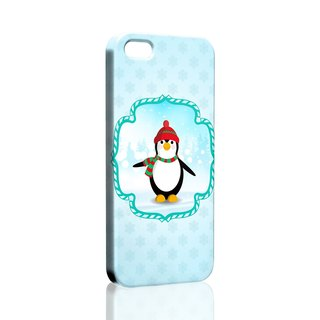 Little Penguin Winter Pattern custom Samsung S5 S6 S7 note4 note5 iPhone 5 5s 6 6s 6 plus 7 7 plus ASUS HTC m9 Sony LG g4 g5 v10 phone shell mobile phone sets phone shell phonecase