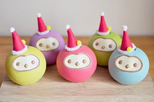 Christmas limited apple bird ornaments