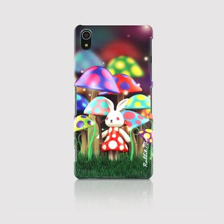 (Rabbit Mint) Mint Rabbit Phone Case - Bu Mali mushrooms series Merry Boo - Sony Z2 (M0003)