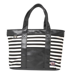 Simple striped hand / shoulder bag (handmade) trademark has been registered