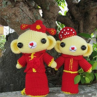 Cubs. Chinese wedding dolls (customized part of your wedding dolls)