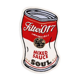 Filter017 Soup Can Carpet 湯罐地墊