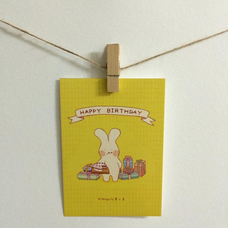 HAPPY BIRTHDAY card postcard --C0191