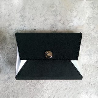 Business card holder . coin purse  .washable kraft paper  .paper leather