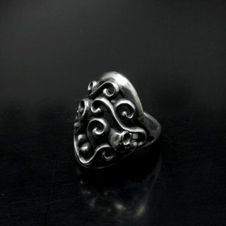 Vine of Skull ring | vine skull ring