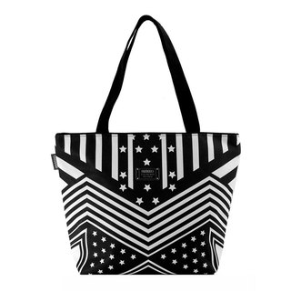 COPLAY  tote bag .-stars (Black)