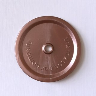 The MasonBar Company Suction Cup Cover - Copper Wide and Copper Narrow