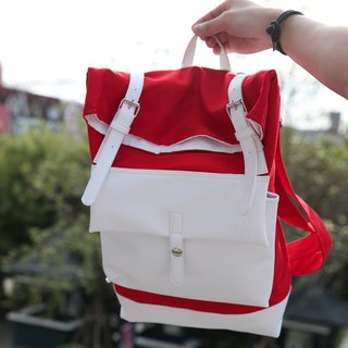 Gla ce' brand Red Red Backpack