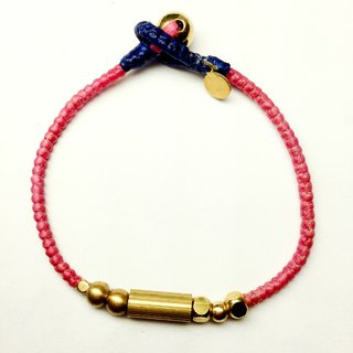 Pinky Paris. Simple series ◆ Sugar Nok ◆ Wax line Brass Bracelet