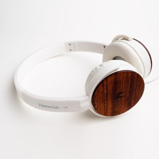 Temperature Acoustic hoomia good texture U3 Wood logs safflower pear classic folding earmuffs headset white