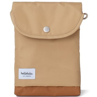Hellolulu Tess-iPad mini light handbag - light coffee
