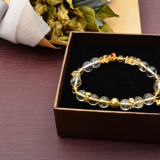 Harvest season | yellow crystal natural stone bracelet
