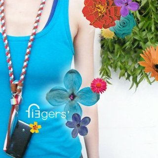 13 fingers' / Fun / long chain sling mobile phone