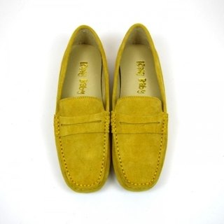 Fort Tony Wang handmade leather shoes (female) [matte / bean bottom / yolk]