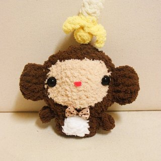 [Leaf cat son. Hand-made crochet doll finished] - Monkey Forest Department Wallets