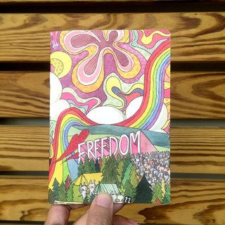 A6 Notebook | Rabbit Music Festival Freedom