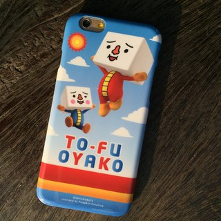 Sigema X tofu human TO-FU OYAKO Case for iPhone 6 / 6s Beng Bengtiao tofu Phone Case