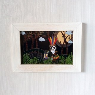 Spectacled Bear's Home Postcard