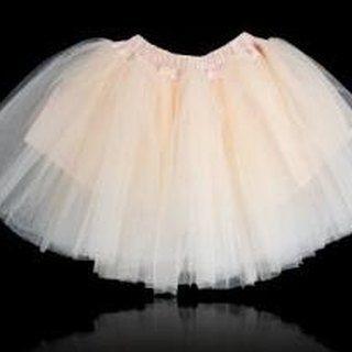 Dolly Classic gauze skirt Peng - cream princess