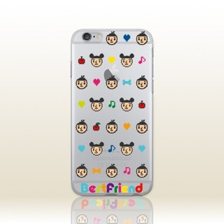 [BestFriend] Pixel BoyFriend iPhone 6 / 6Plus / 7/7 Plus Case (transparent models)