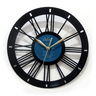 [Time Traveler 1888] vinyl clock. Basic Roman
