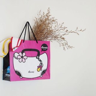 Pocket cute paper bag plus purchase / new version