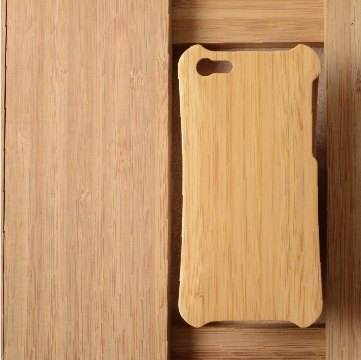 WKidea iPhone 5 / 5S ergonomic wooden shell _ Moso