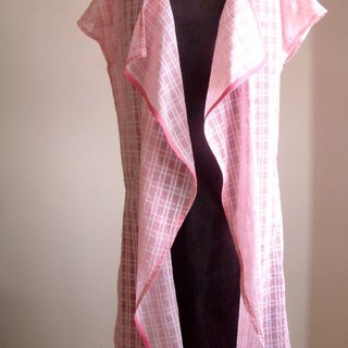 Junior series - lapel jacket (pink)