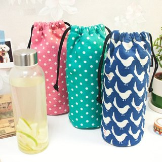 [花布恋Fabric Series] thermos bottle pocket