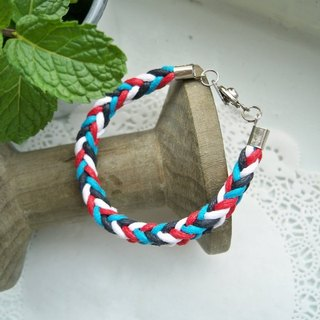 Three-dimensional bracelet - Navy style-1