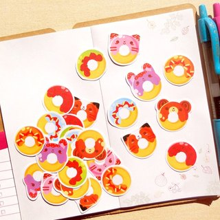 Donut Stickers - 24 Pieces - Stickers for Planner - Scrapbooking Stickers