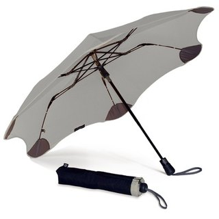 [BLUNT Paul Rand] XS_METRO anti-strong wind umbrella - classic gray