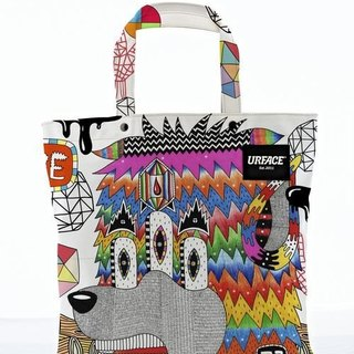 [URFACE] 2nd Artist Series / P7 design limited edition Shopping Bag / White