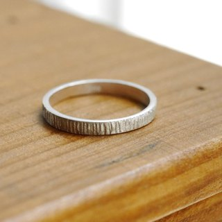 Imprint Pinky Ring - Handcrafted Ring - Stackable Ring - Hammered Ring