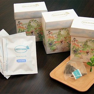 3 boxes of Taiwan's high mountain tea combination / triangular tea bag / three tastes [HERDOR alpine tea]