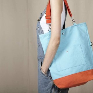 Hit color canvas 2 with a bag - 2 colors optional (orange / yellow)