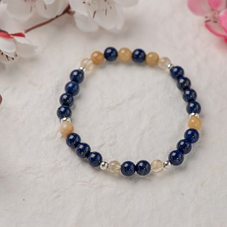 [Woody'sHandmade] and props. Lapis lazuli yellow jade bracelets.