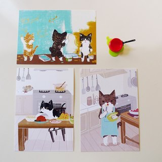 Postcard kits - housework