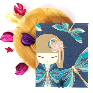 Notepad 85 pages with mirror - Yuna calm and quiet [Kimmidoll notebook / diary]