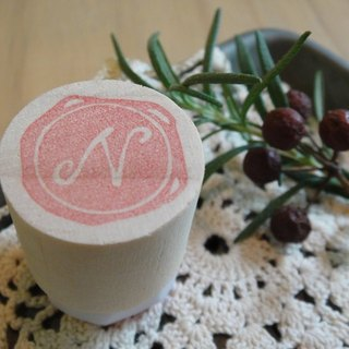 Hand-made rubber stamp - wax seal chapter (resolution 1 N)