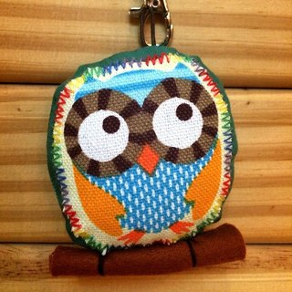 RABBIT LULU guardian owl No. II color positive energy embroidered name
