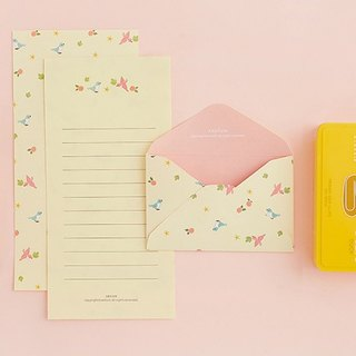 ARDIUM cute animal stationery group (a group of three) - yellow bird