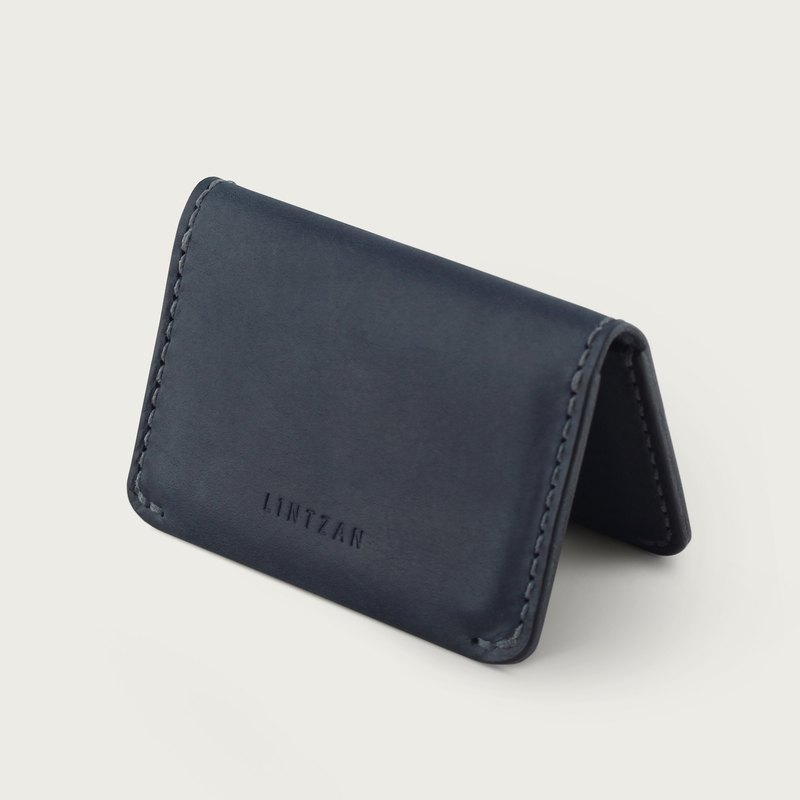 Classic 20% Business Card Holder / Clip - Deep Sea Blue