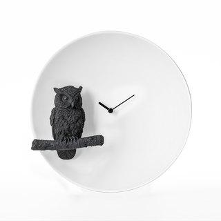 Owl X CLOCK Moonlight Owl Clock