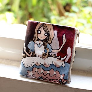 ZoeL * Short Wallet * Rose house Alice * Alice original illustrations