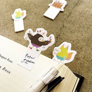 Bird True Colors Cute lovely Sticky Notes Cute Memo Posts Index stickers Flag