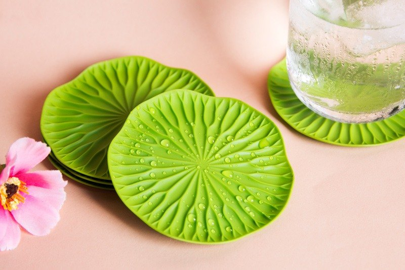 QUALY Lotus Leaf Coaster (2 in)