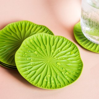 QUALY lotus leaf coaster (2 into)