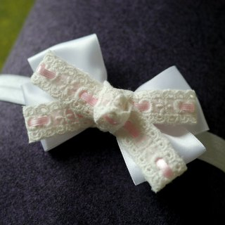 Children flower girl hair band / hairpin: simple bow