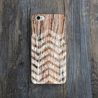 Wood, Zigzag - Designer,iPhone Wallet,Pattern iPhone wallet